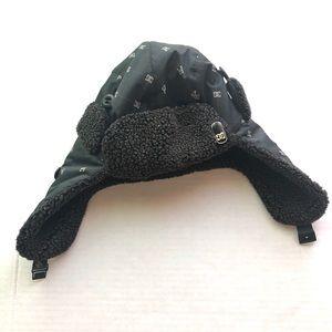 DC fleece lined winter hat